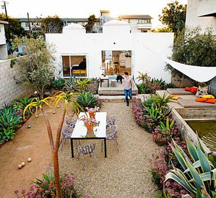 Tuin van een architect