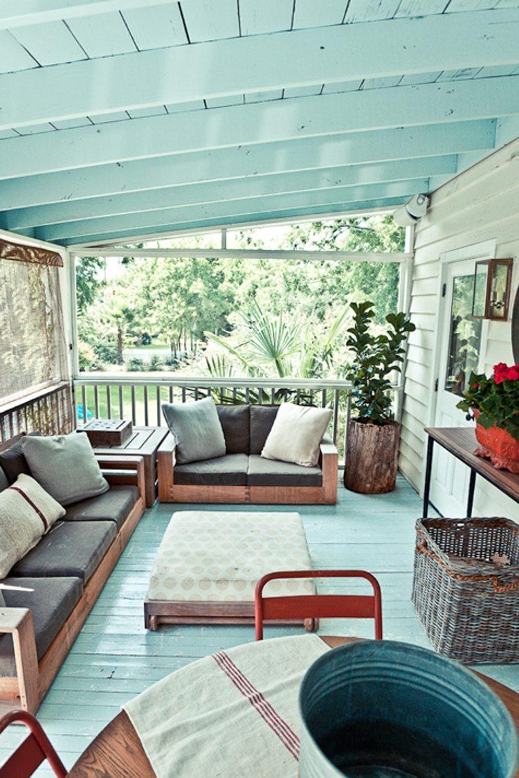 Tips voor het inrichten van een veranda inrichting - Interieur van een veranda ...