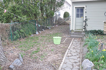 Tuinverbouwing van Suzanne
