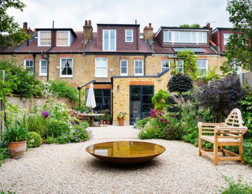 tuin voorbeelden - mooie tuin met grind