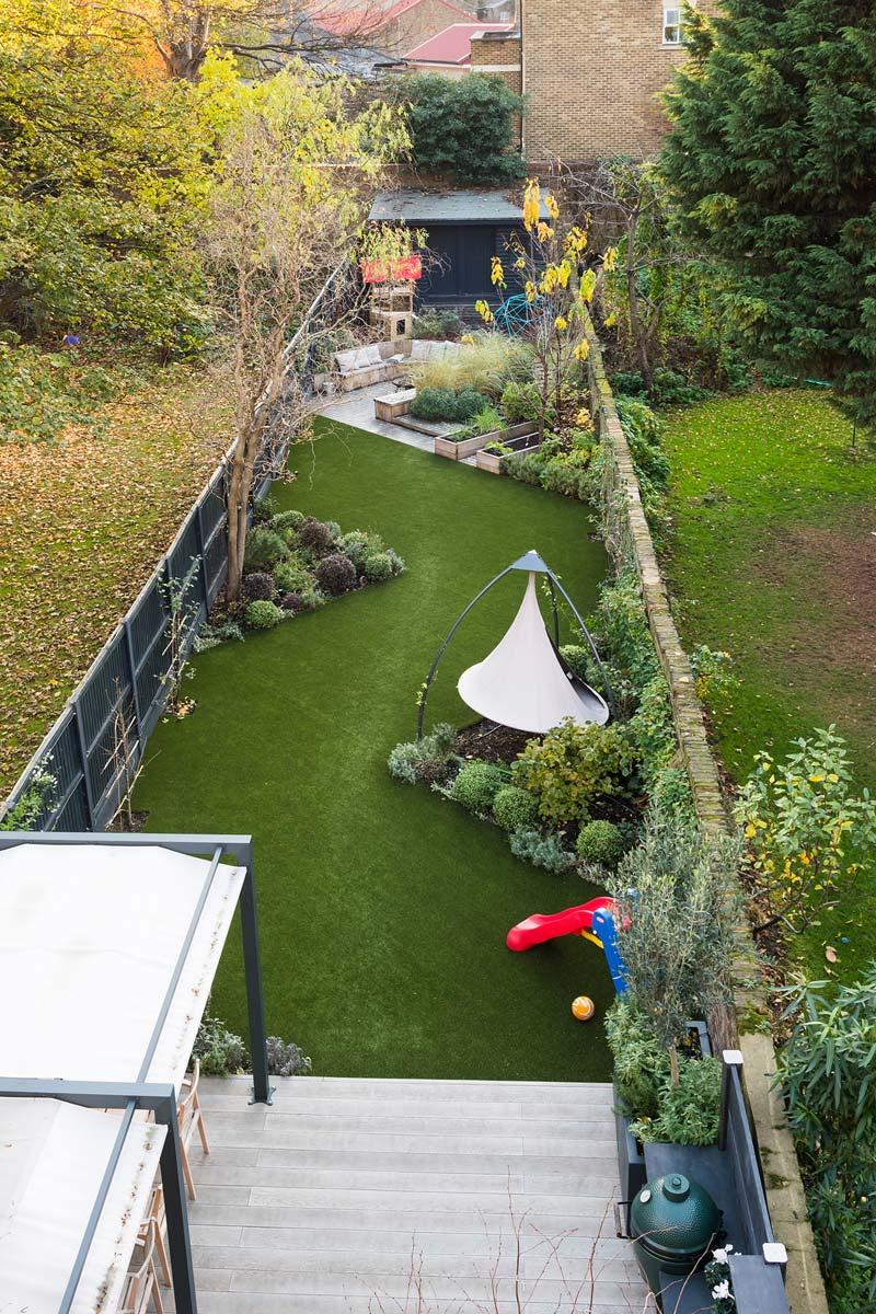 tuin voorbeelden familietuin camberwell