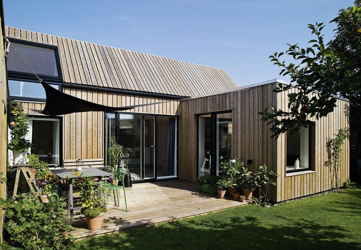 Tuin van Zweedse architecte Linda