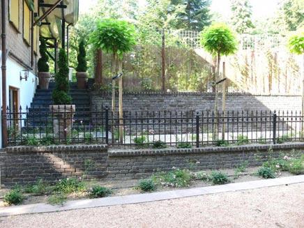Garten mit Pool in Rhenen