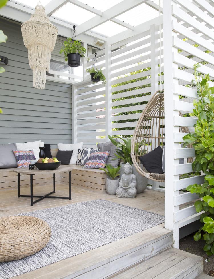 tuinbank op maat houten vlonders