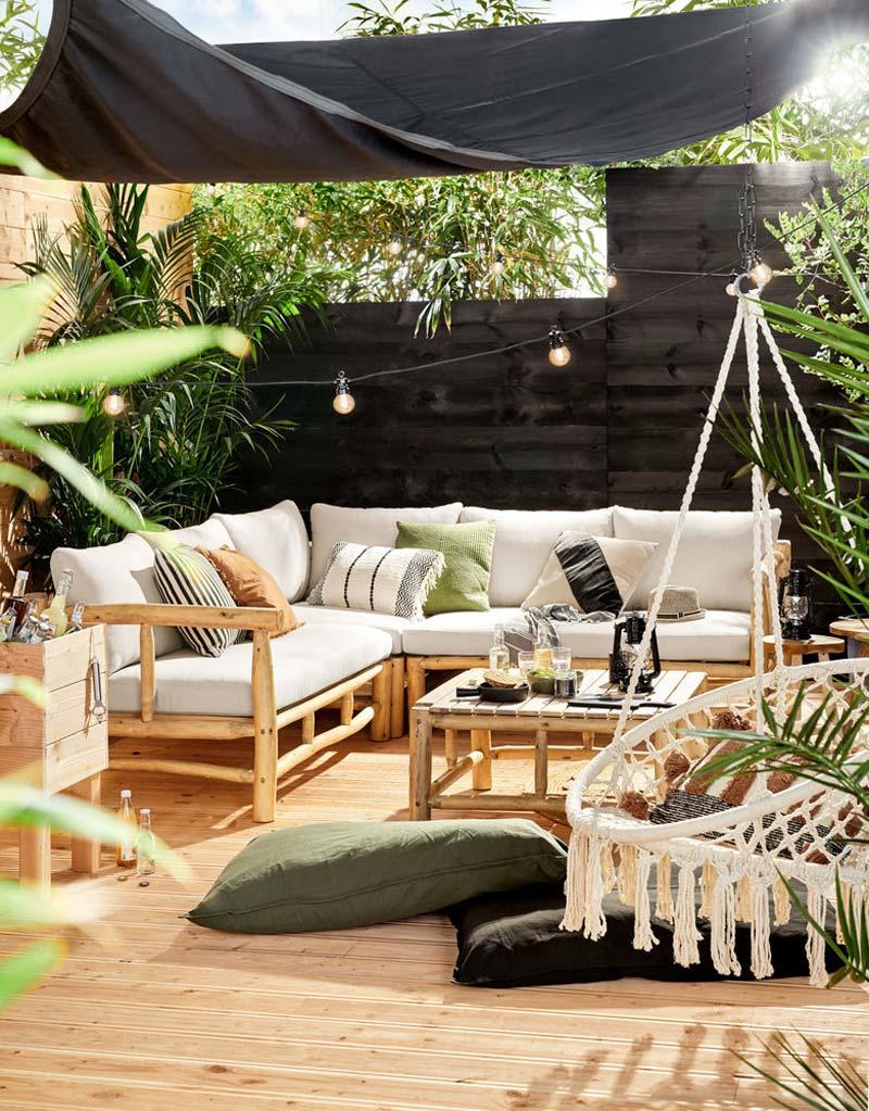 Karwei tuinmeubelen Livin'outdoor schaduwdoek