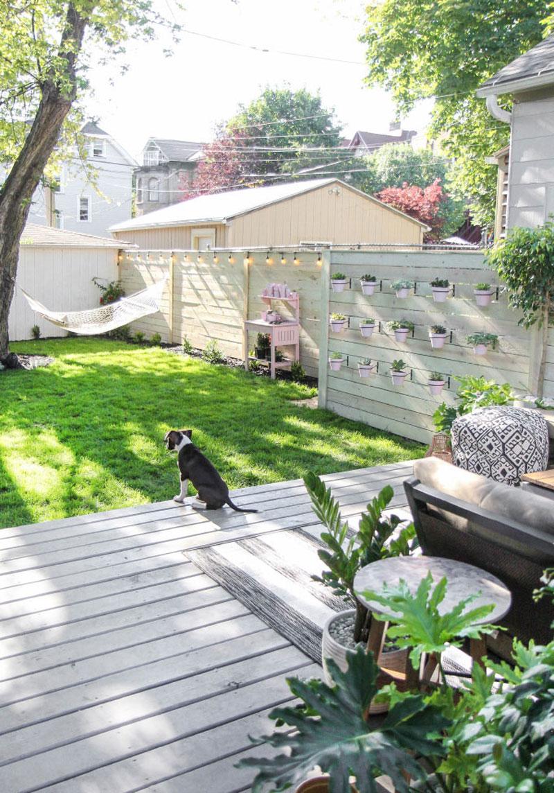 Tuinontwerp grote tuin van Jenni