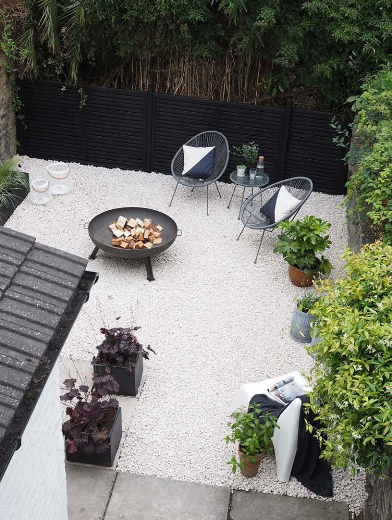 tuintrends 2020 onderhoudsvriendelijke tuin grind