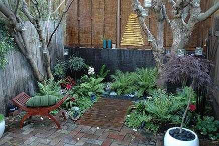 Tuinverbouwing met nieuwe vloer