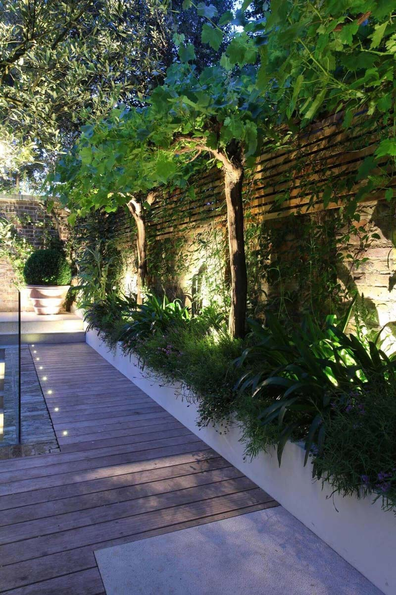 tuinverlichting inspiratie grondspots