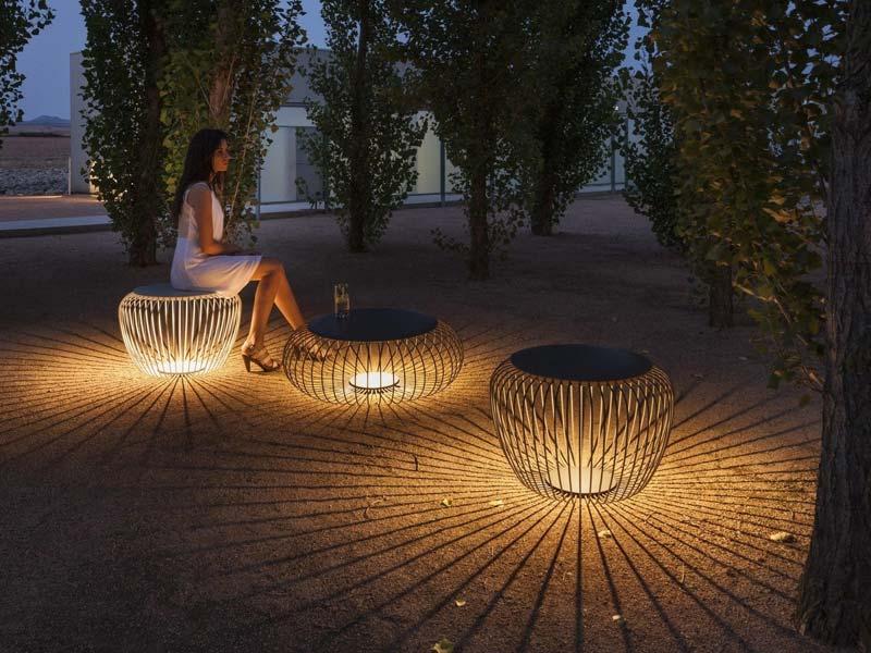 tuinverlichting inspiratie meubel