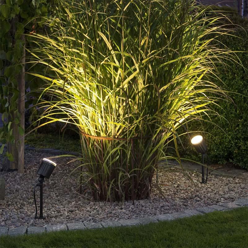 tuinverlichting inspiratie prikspots