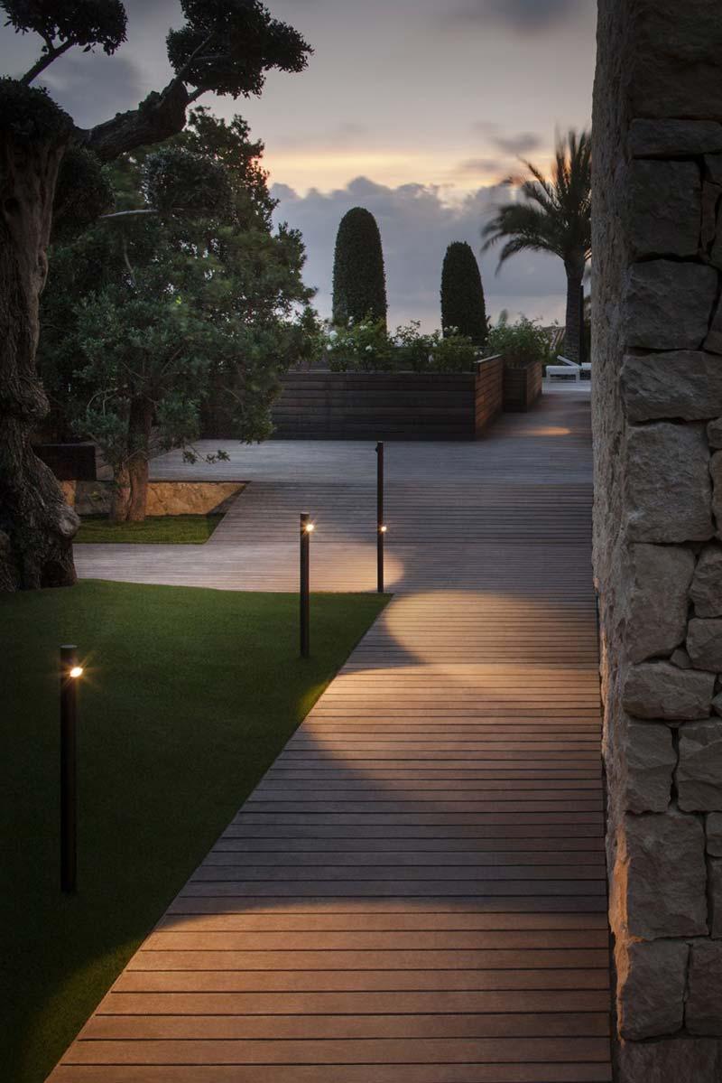 tuinverlichting inspiratie sokkellampen