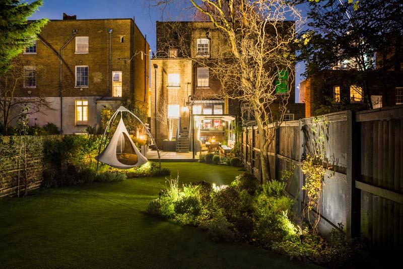 tuinvoorbeelden verlichting bomen