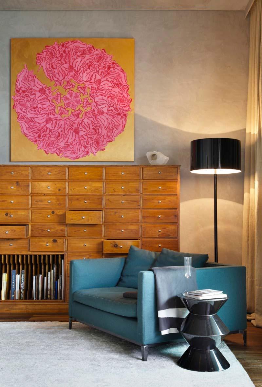 turquoise kleur interieur fauteuil