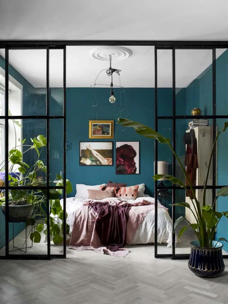 turquoise kleur interieur
