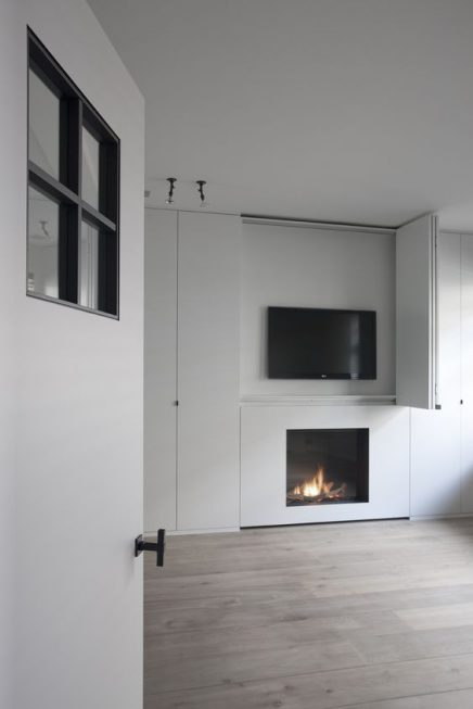 TV en open haard combineren | Inrichting-huis.com