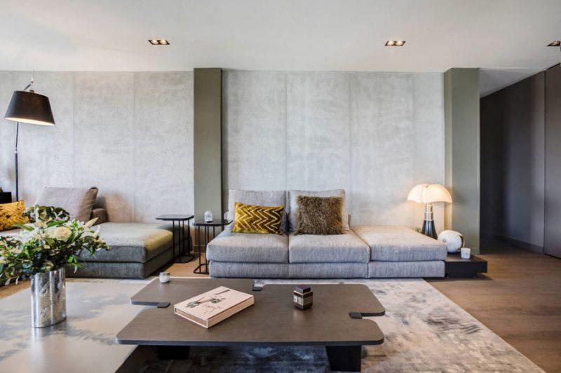 TV meubel als roomdivider