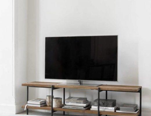 Reclaimed teak TV-meubel Cusiano