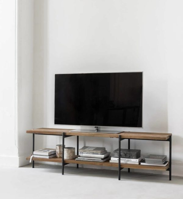 Reclaimed teak TV-meubel Cusiano