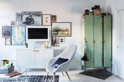 10x tv aan de muur inrichting - Deco tv muur ...