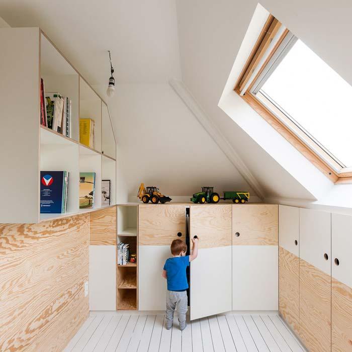 Opbergkast Voor Schuine Wand.40x Inbouwkast In Schuine Wand Ideeen Inspiratie Inrichting Huis Com
