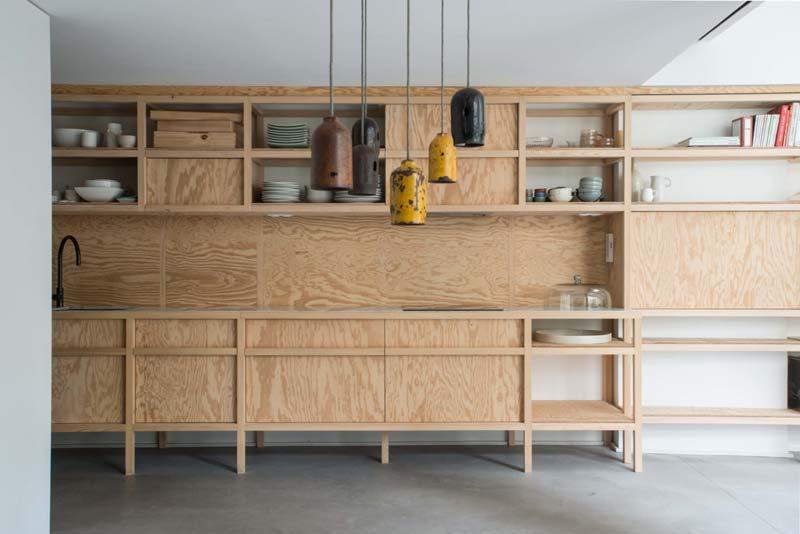 underlayment keuken loft