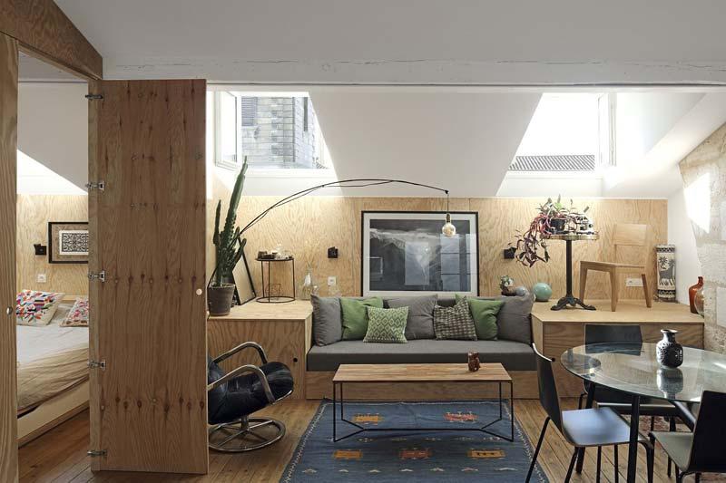 underlayment woonkamer