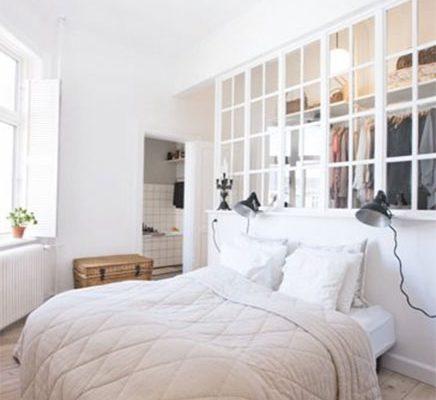 Unieke slaapkamer met unieke inloopkast
