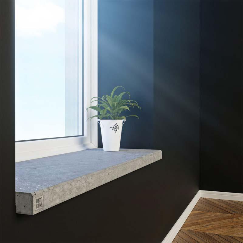 vensterbank betonnen plank