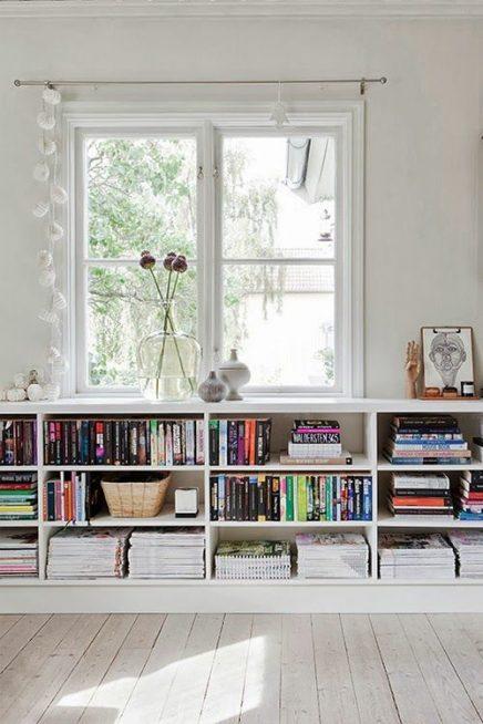 Decoratie Boekenkast: Landelijke stijl boekenkast landelijkinrichten.