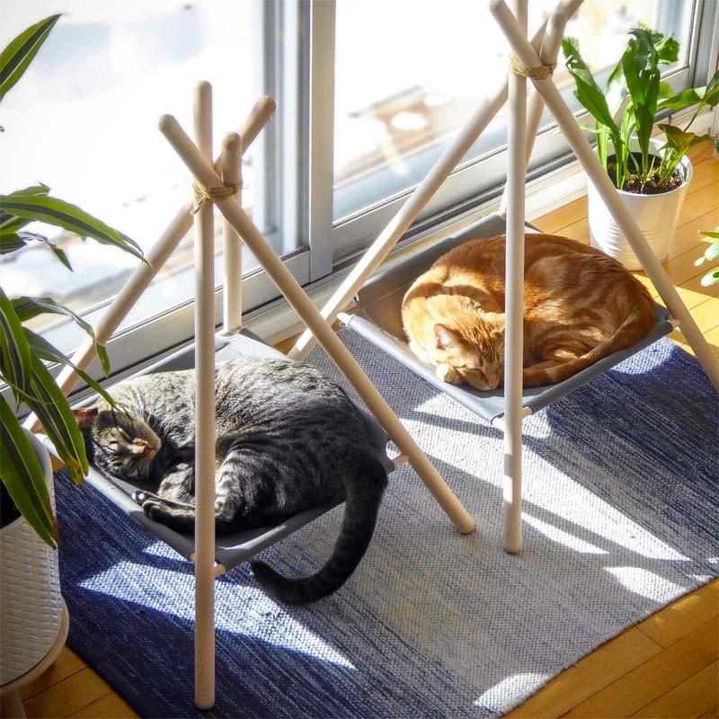 kattenmand vensterbank
