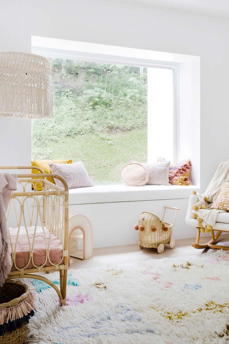 vensterbank decoratie kinderkamer