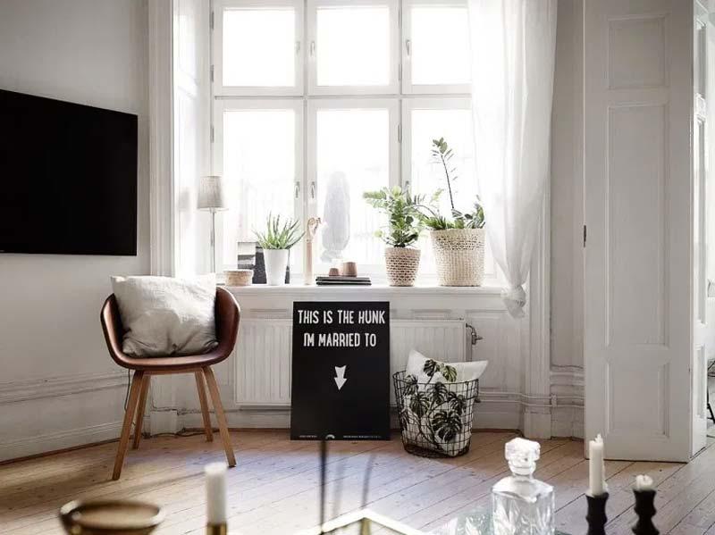 vensterbank decoratie spullen