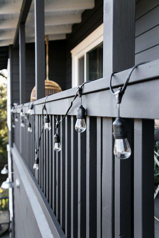 Het veranda balkon van Victoria