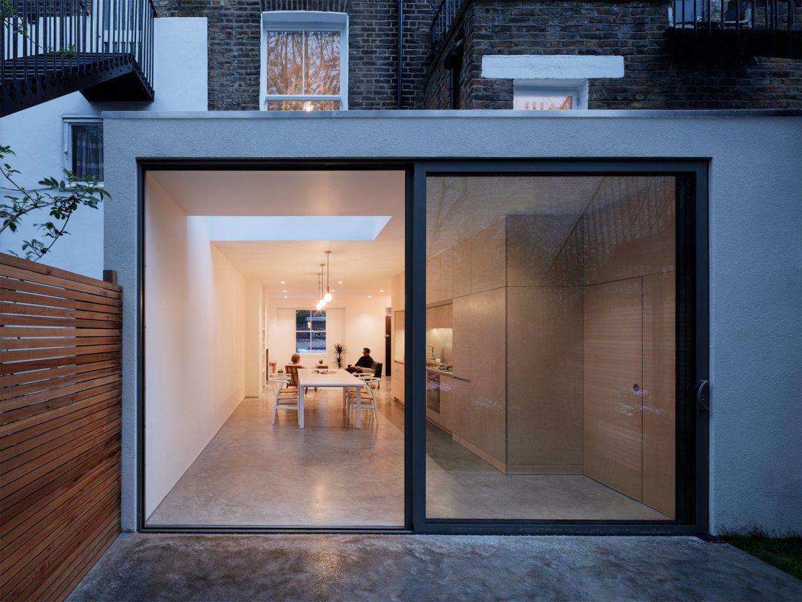 Verbouwde Victoriaanse woning in Londen
