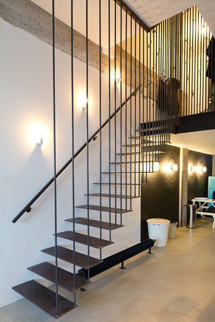 Verbouwing industri le loft in amsterdam inrichting for Industriele loft