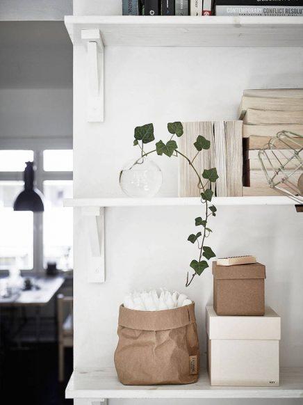 Verkoopstyling in een klein appartement van 51m2