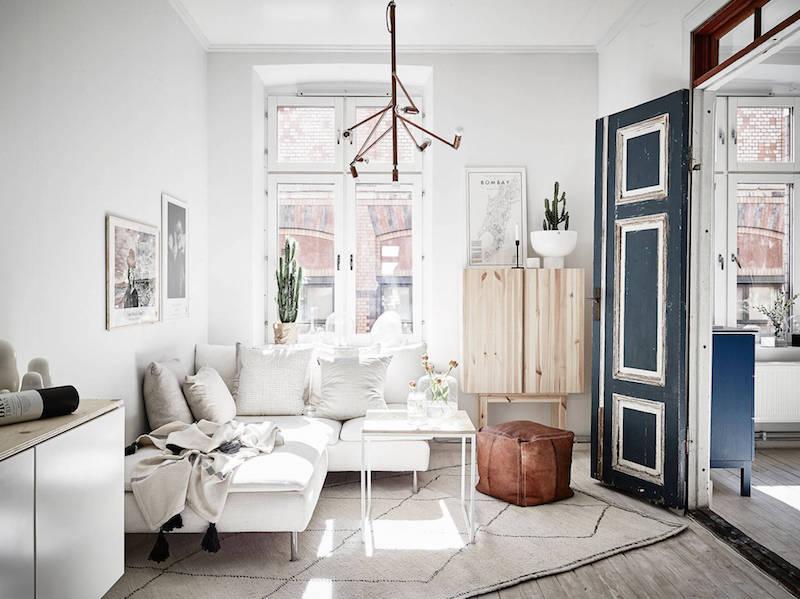 verkoopstyling in een klein appartement van 51m2 inrichting. Black Bedroom Furniture Sets. Home Design Ideas