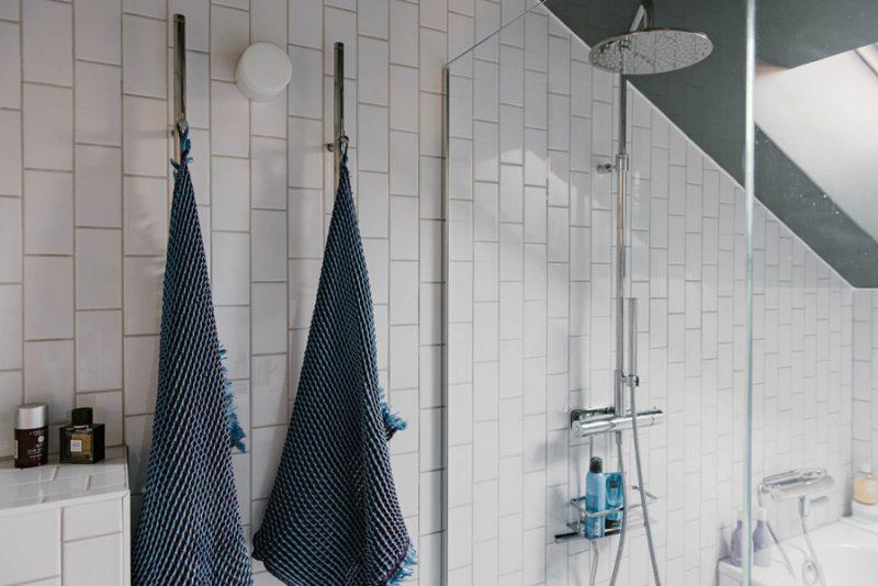 Verrassend leuke badkamer van klein appartement van 42m2