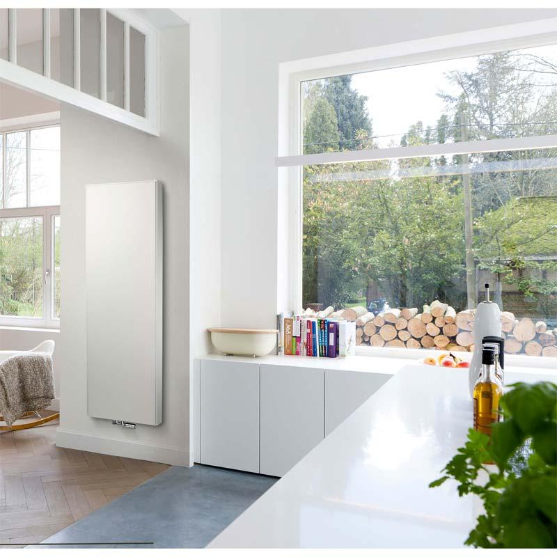 verticale radiator keuken