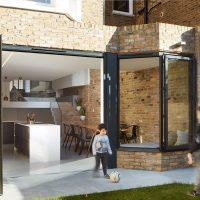 Victoriaanse woning met een split level indeling