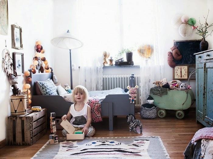 Caravan Met Kinderkamer : Vintage bohemien kinderkamer van sonny lou ...