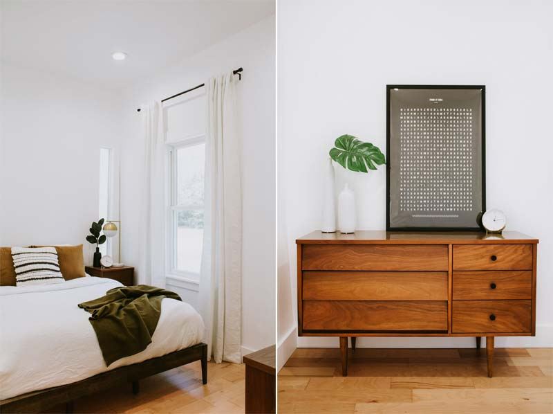 vintage dressoir slaapkamer