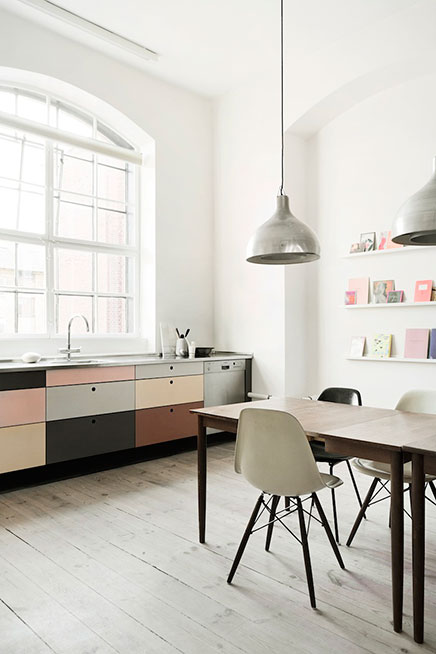 Indeling Keuken Restaurant : Pastel Kitchen Cabinet Colors
