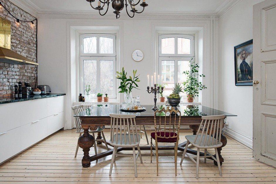 vintage-houten-eettafel