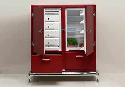 Vintage koelkasten van Meneghini