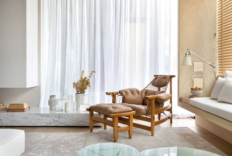 vintage lounge chair design