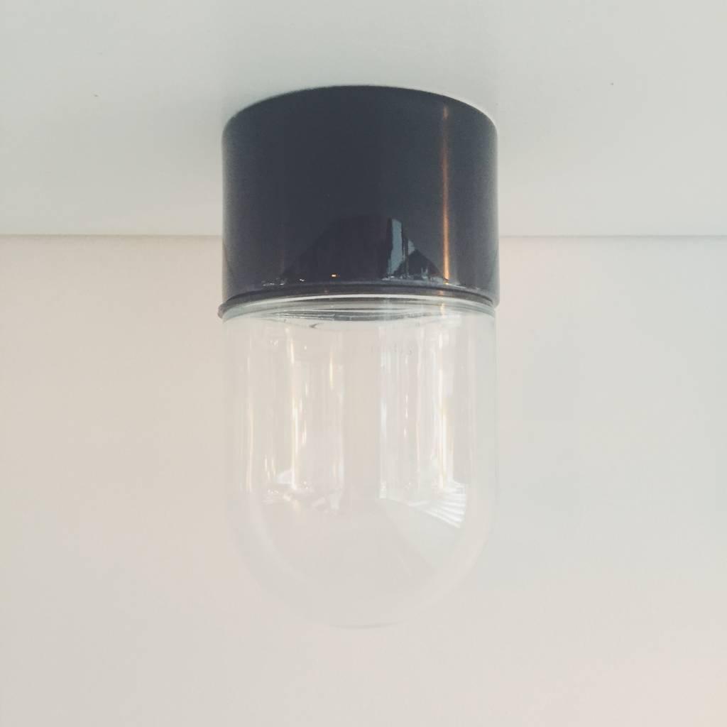 vintage-porceleinen-wandlamp-zwart