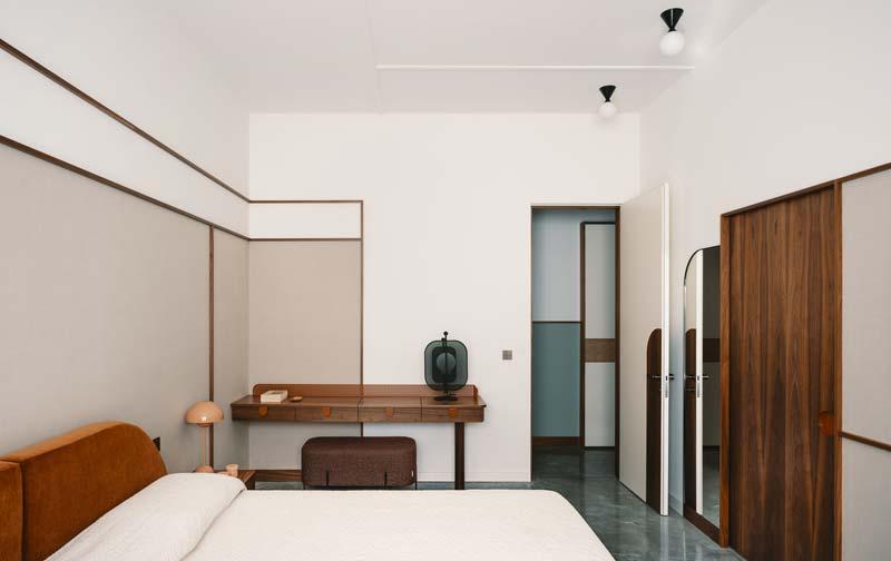 vintage slaapkamer fluwelen bed
