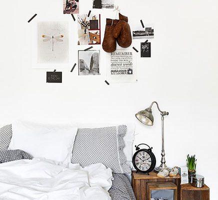 Vintage slaapkamer van Jesper & Anna